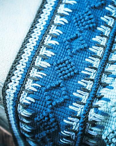 Free Crochet Pattern: Timeless Tunisian Afghan