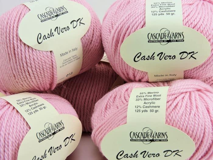 Crochet Prize Drawing: Six balls Cash Vero DK yarn