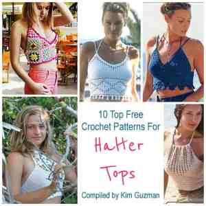 Link Blast: 10 Free Crochet Patterns for Festival Halter Tops