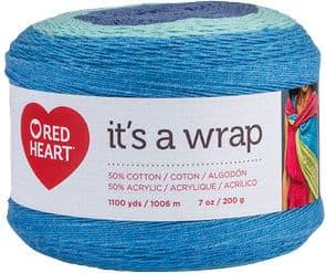 Red Heart It's A Wrap Yarn