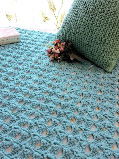 Magical Butterfly Throw | CrochetKim Free Crochet Pattern