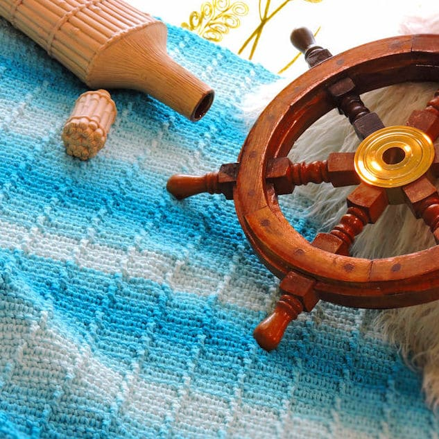 Afternoon Tide Throw Free Crochet Pattern