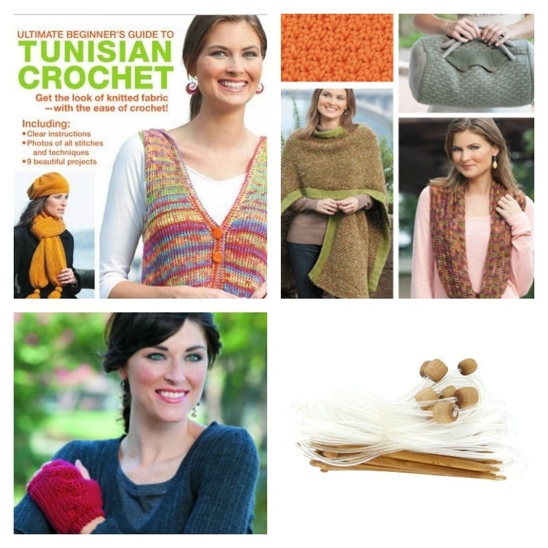 Weekly Giveaway: Ultimate Beginner's Guide to Tunisian Crochet by Kim Guzman