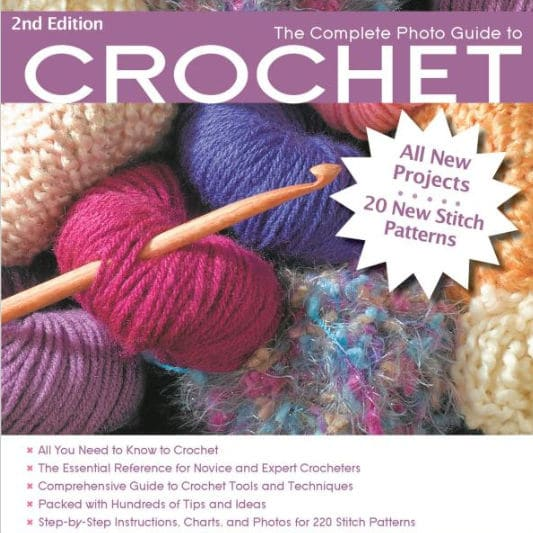 CrochetKim Giveaway: Complete Photo Guide to Crochet by Margaret Hubert