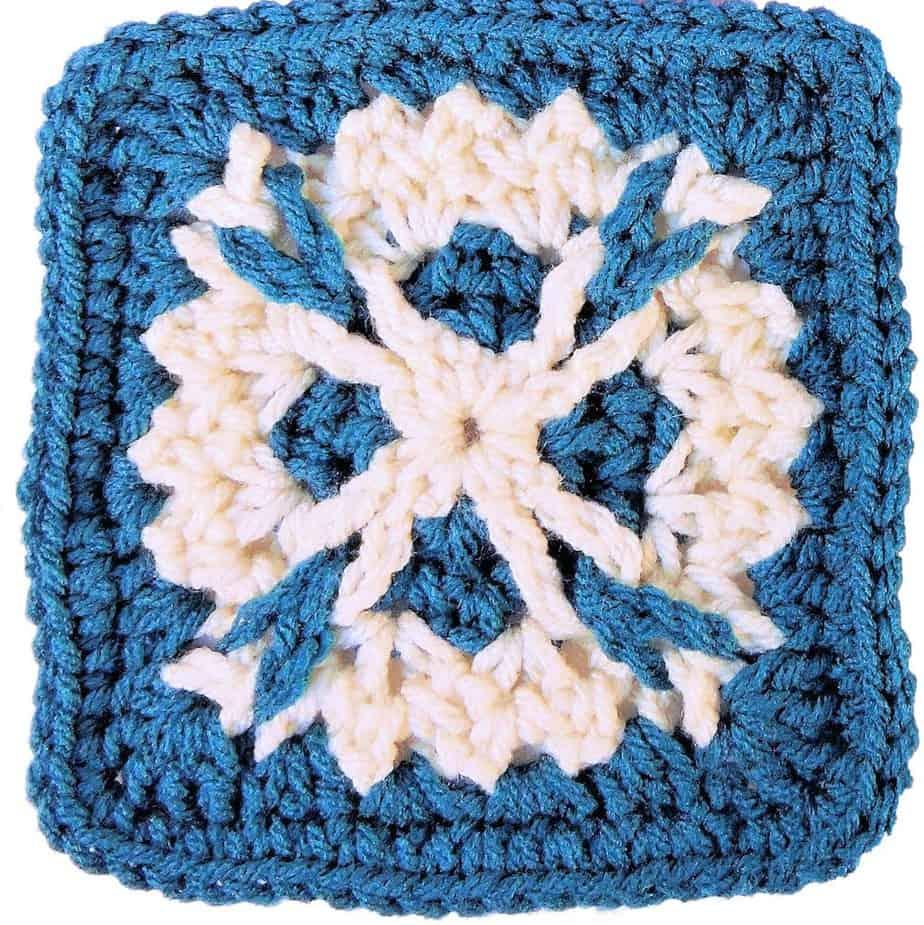 Bailey Afghan Square Block CrochetKim Free Crochet Pattern