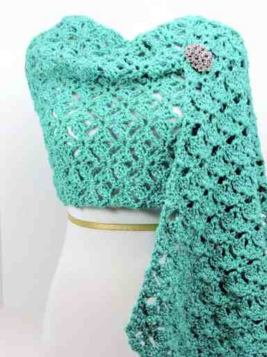 Diamond Shells Lace CrochetKim Free Crochet Stitch Tutorial