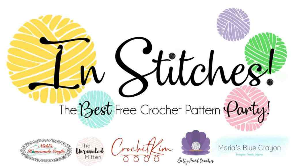 CrochetKim: In Stitches Free Crochet Pattern Party 41
