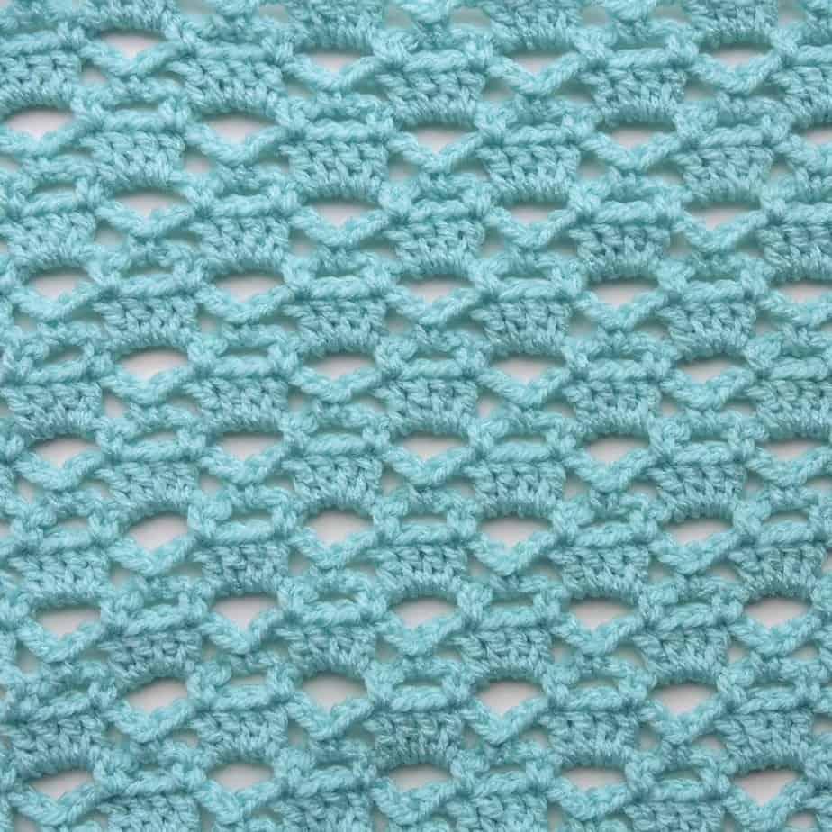 Lattice Trilogy CrochetKim Free Crochet Stitch Tutorial