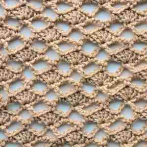 Open Lace Shell CrochetKim Free Crochet Stitch Tutorial