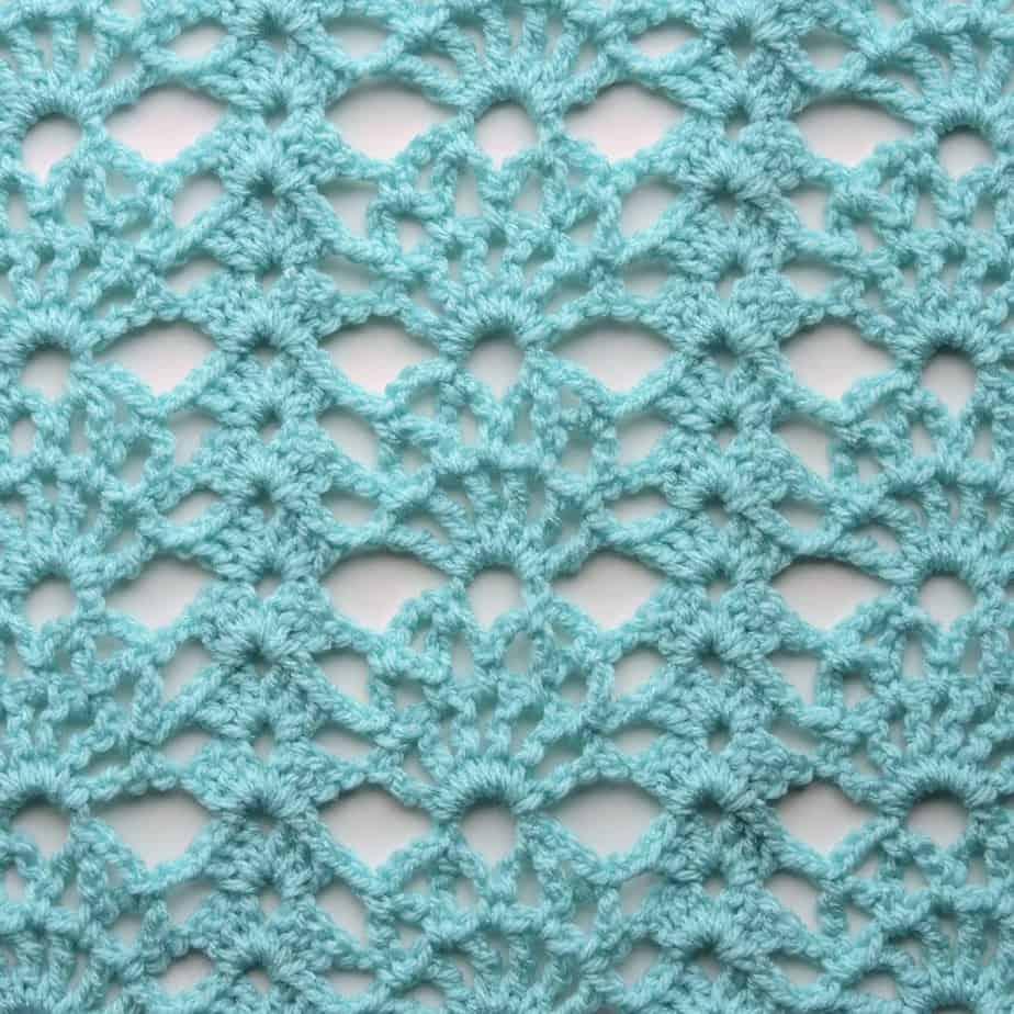 Sunspray Lace Free Crochet Stitch Tutorial Crochetkim