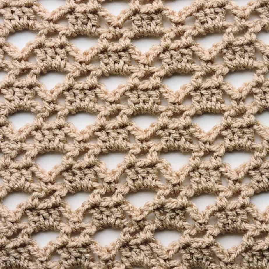 Triangle Lace CrochetKim Free Crochet Stitch Tutorial