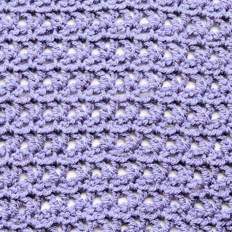 V Stitch Lace Free CrochetKim Crochet Stitch Tutorial
