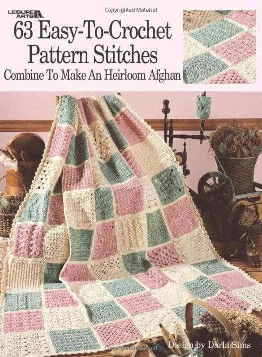 CrochetKim Giveaway: 63 Easy to Crochet Pattern Stitches from Leisure Arts