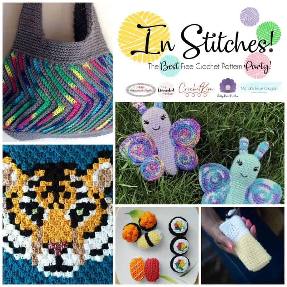 CrochetKim: In Stitches Free Crochet Pattern Party 39
