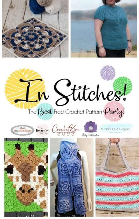CrochetKim: In Stitches Free Crochet Pattern Party 41