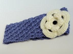Crocheted Floral Earwarmer