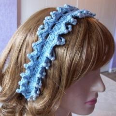 Beaded Loopy Headband