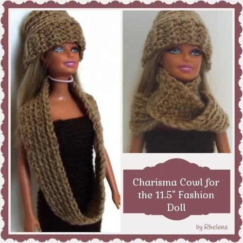 """Charisma Cowl for the 11.5"""" Fashion Doll"""