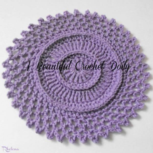 A Beautiful Crochet Doily ~ FREE Crochet Pattern