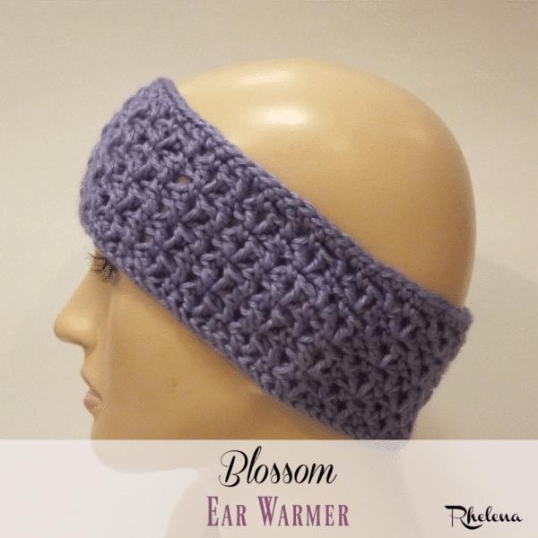 Blossom Ear Warmer ~ FREE Crochet Pattern