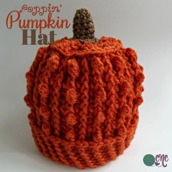 Poppin Pumpkin Hat Crochetncrafts