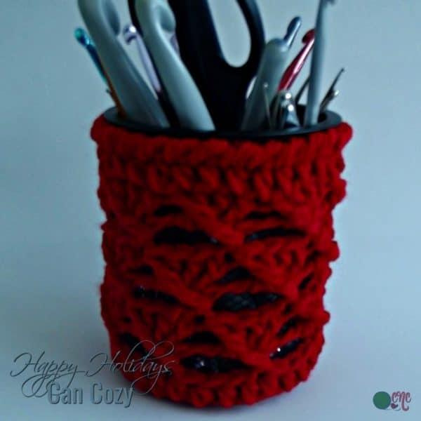 happy holidays can cozy small toy hammock   crochetn u0027crafts  rh   crochetncrafts