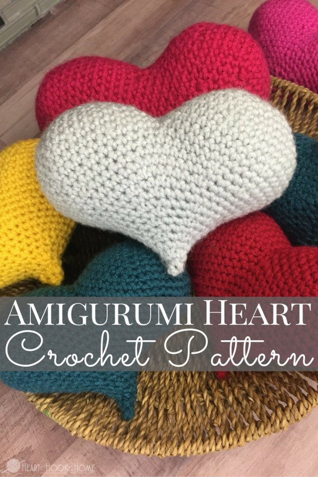 Amigurumi Crochet Patterns Amigurumi Love Heart Free Crochet Pattern