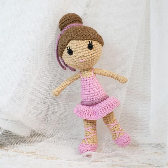 Amigurumi Crochet Patterns Ballerina Doll Amigurumi Pattern Amigurumi Today