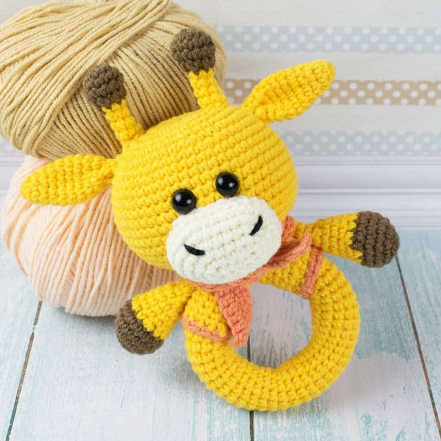 Amigurumi Crochet Patterns Giraffe Ba Rattle Crochet Pattern Amigurumi Today Crochet Ba