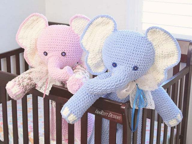 Amigurumi Crochet Patterns Josefina And Jeffery Big Amigurumi Elephants Pdf Crochet Pattern