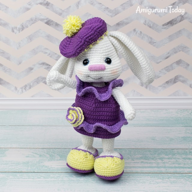 Amigurumi Crochet Patterns Pretty Bunny With Floppy Ears Crochet Pattern Amigurumi Today