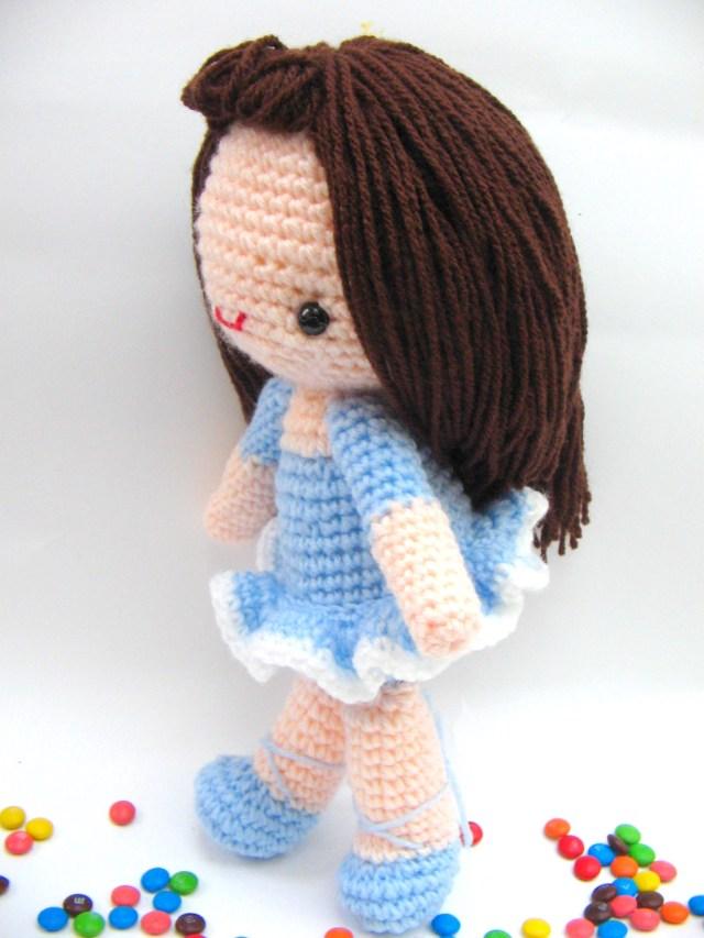 Amigurumi Doll Crochet Pattern Bella Girl Free Amigurumi Pattern