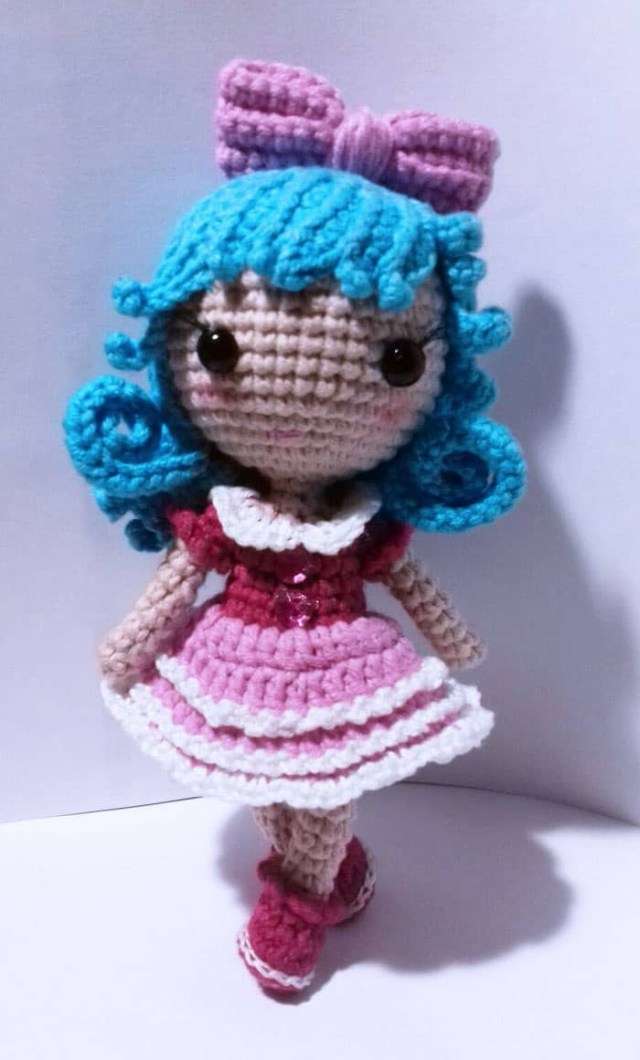 Amigurumi Doll Crochet Pattern Tiny Crochet Doll Amigurumi Pattern Amigurumi Today
