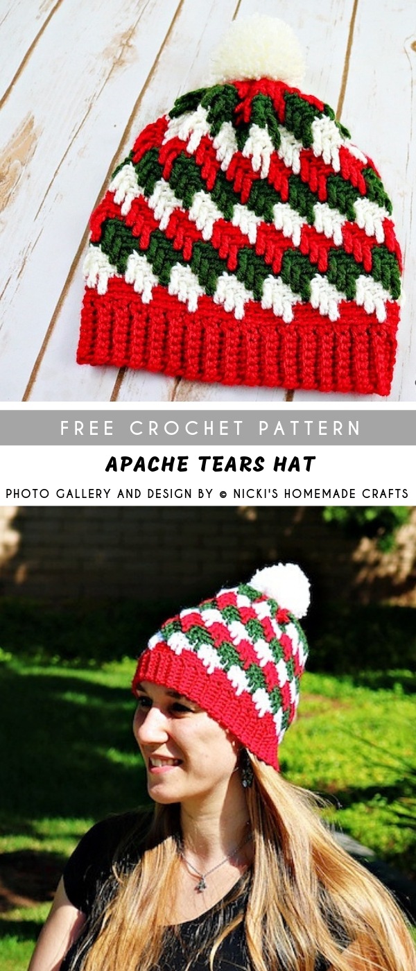 Apache Tears Crochet Pattern Apache Tears Crochet Hat With Free Pattern Pattern Center