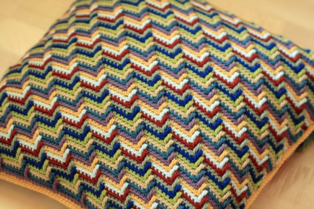 Apache Tears Crochet Pattern Apache Tears Cushion Completed
