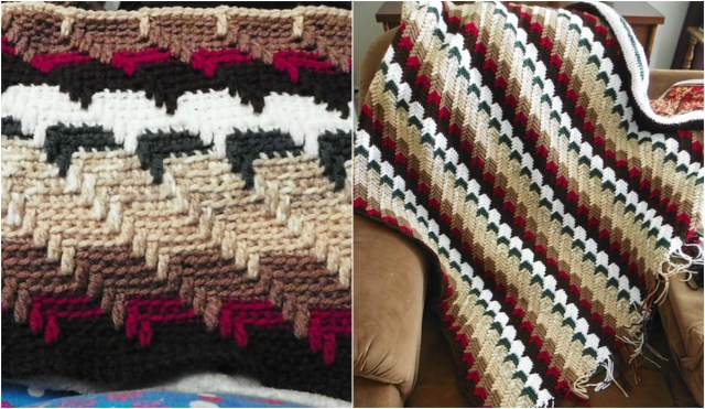 Apache Tears Crochet Pattern Free Pattern Apache Tears Crochet Afghan Video Tutorial Diy Smartly