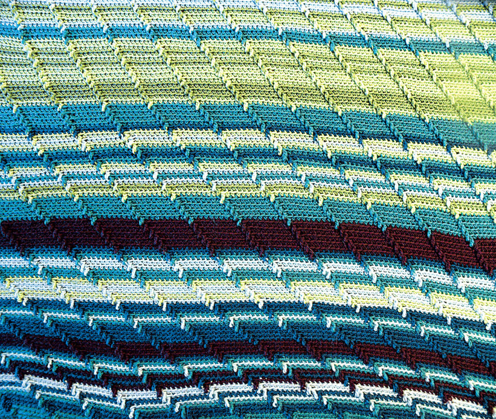 Apache Tears Crochet Pattern Vienna Resident Gets Hooked On Year Long Blanket Project News