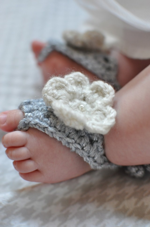 Baby Bootie Crochet Pattern 15 Cute Crochet Ba Sandals Begging To Be Made Make And Takes