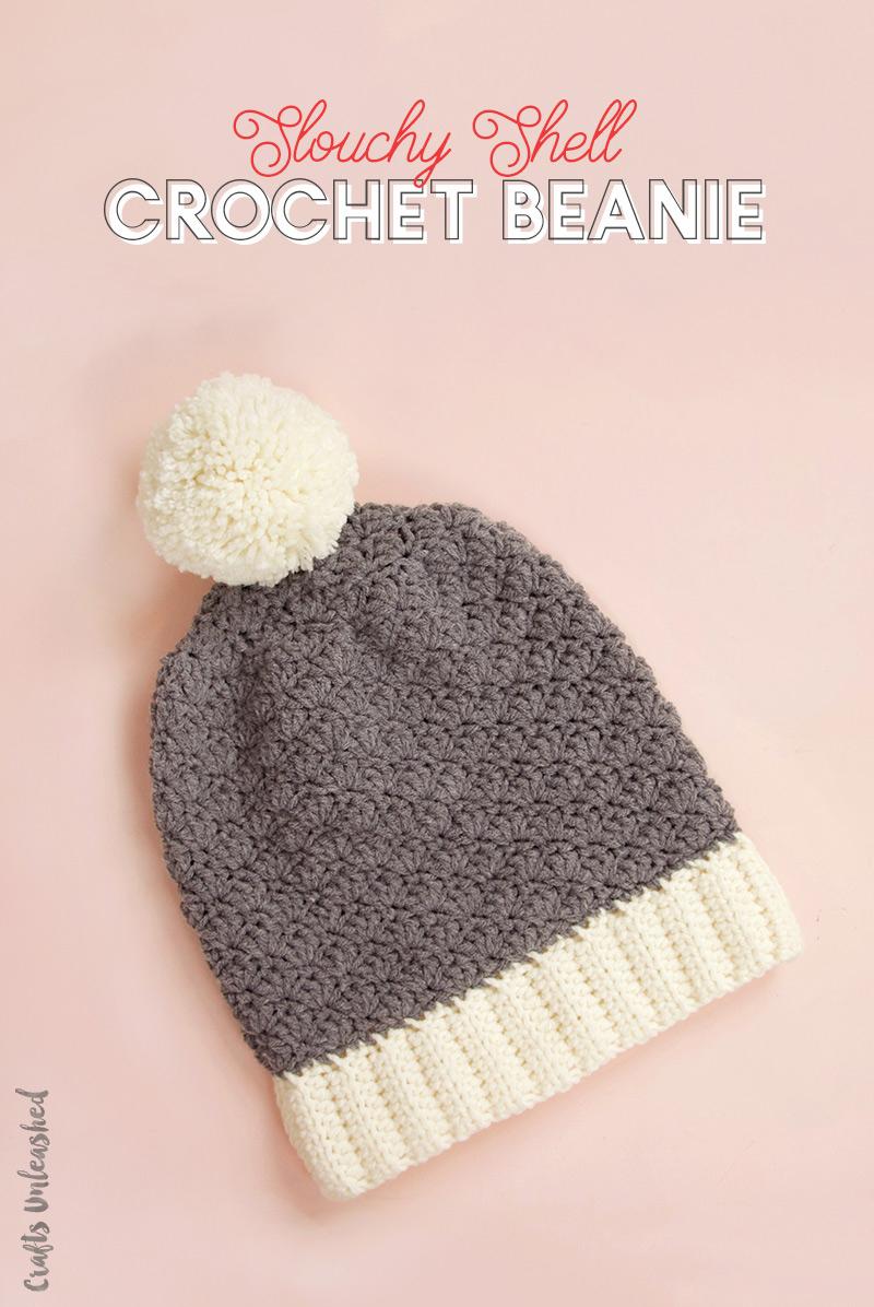 Beanie Pattern Crochet Crochet Beanie Pattern Slouchy Shell Consumer Crafts