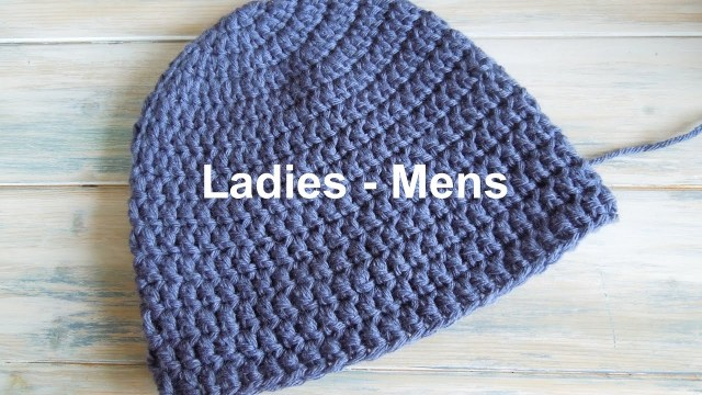 Beanie Pattern Crochet Crochet How To Crochet A Simple Beanie For Ladies Mens Size 22