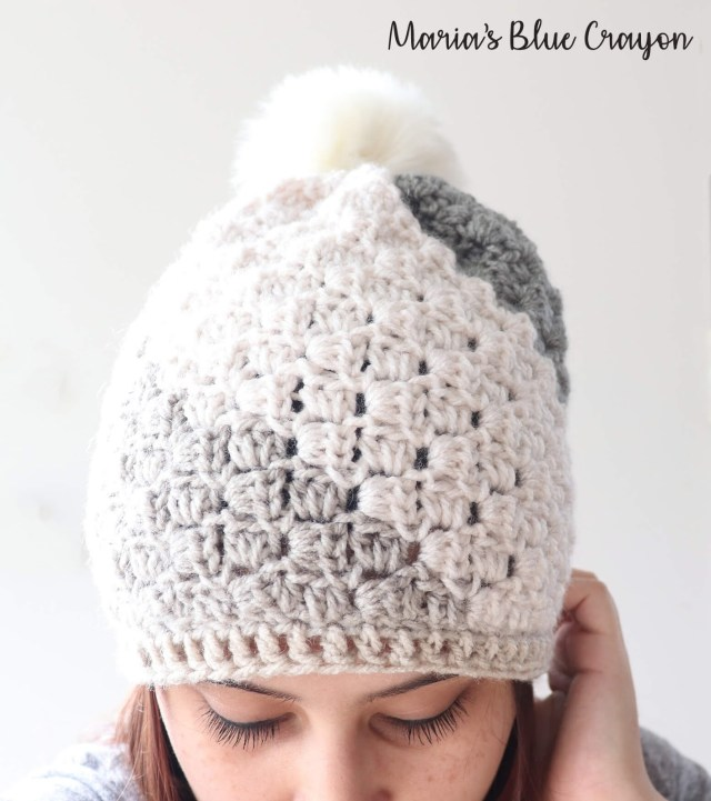 Beanie Pattern Crochet Dont Be A Square Beanie Free Crochet Hat Pattern