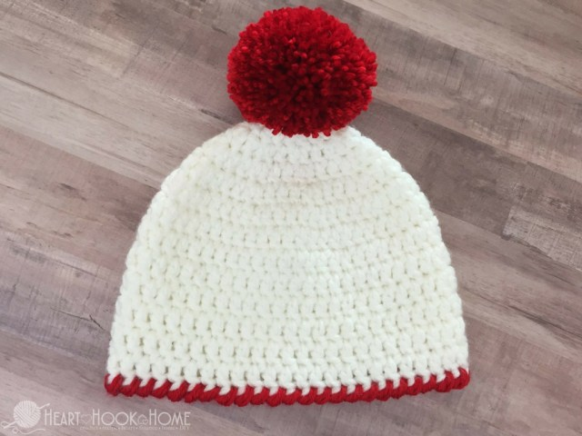 Beanie Pattern Crochet Easy Peasy 30 Minute Beanie Free Crochet Pattern