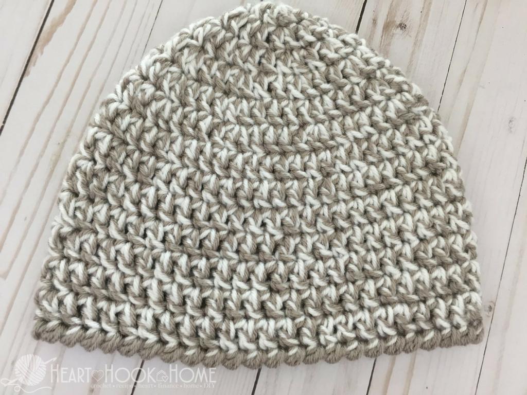 Beanie Pattern Crochet Easy Peasy 30 Minute Beanie Free Crochet Pattern
