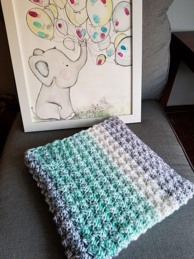 Caron Simply Soft Crochet Patterns Finished A New Ba Blanket With Caron Simply Soft And Lion Brand