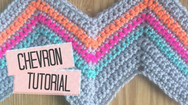 Chevron Zig Zag Crochet Pattern Crochet Chevron Tutorial Bella Coco Youtube