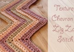 Chevron Zig Zag Crochet Pattern Crochet Textured Chevron Zig Zag Stitch Youtube