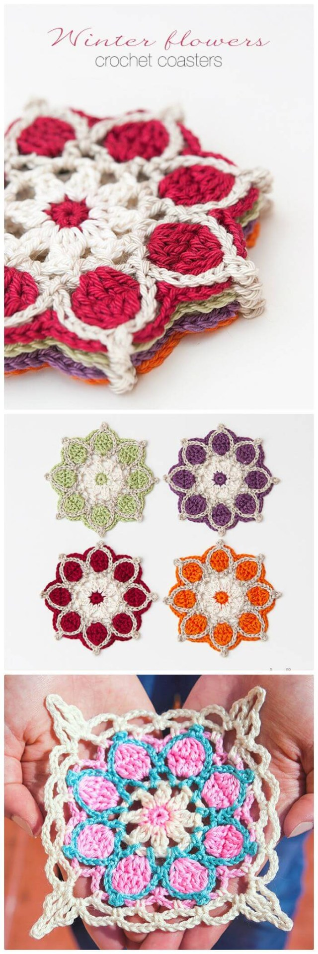 Coaster Crochet Pattern 70 Easy Free Crochet Coaster Patterns For Beginners Diy Crafts
