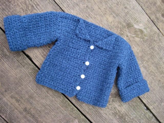 Crochet Baby Sweater Patterns Crochet Ba Sweater Free Pattern