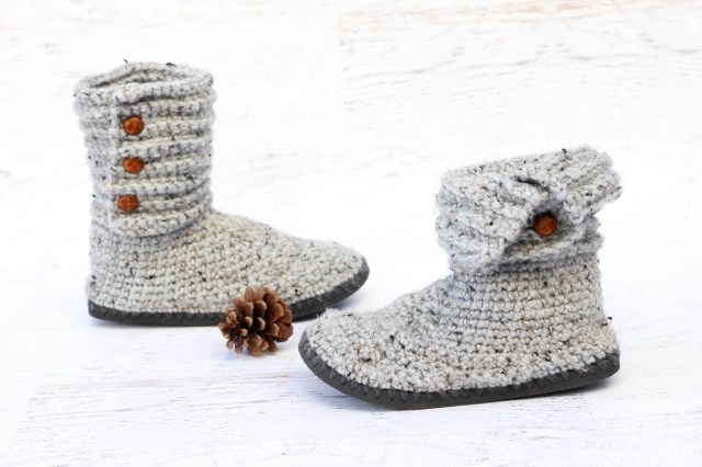 Crochet Boots Pattern For Adults How To Crochet Boots With Flip Flops Free Pattern Video Tutorial