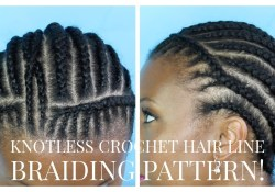 Crochet Braid Pattern Natural Crochet Braid Hairline Braiding Pattern Youtube